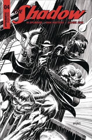 The Shadow #4 (20 Copy Mandrake B&W Cover)