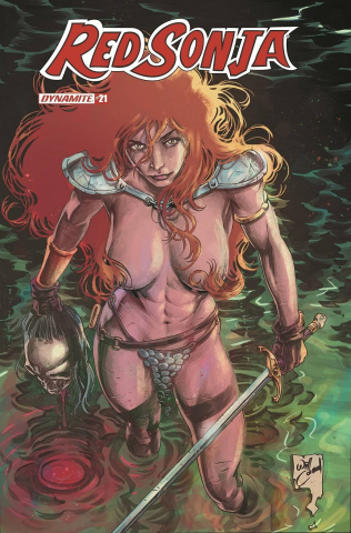 Red Sonja #21 (15 Copy Conrad Risque Cover)