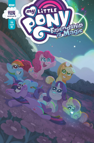 My Little Pony: Friendship Is Magic #94 (10 Copy Muffy Levy Cover)