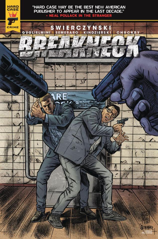 Breakneck #4 (Guglielmini Cover)