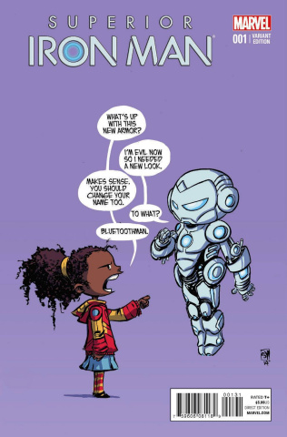 Superior Iron Man #1 (Young Cover)