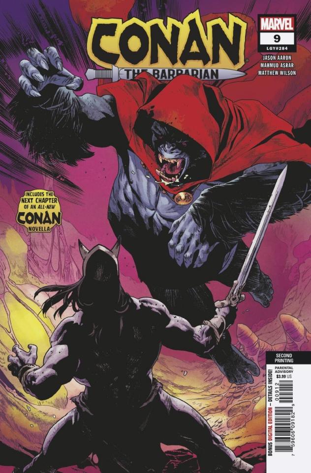 Conan the Barbarian #9 (Asrar 2nd Printing)