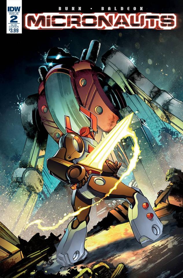 Micronauts #2 (Subscription Cover)