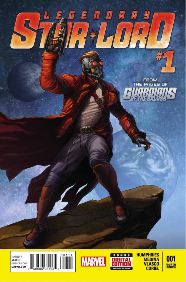 Legendary Star-Lord #1 (4th Printing)