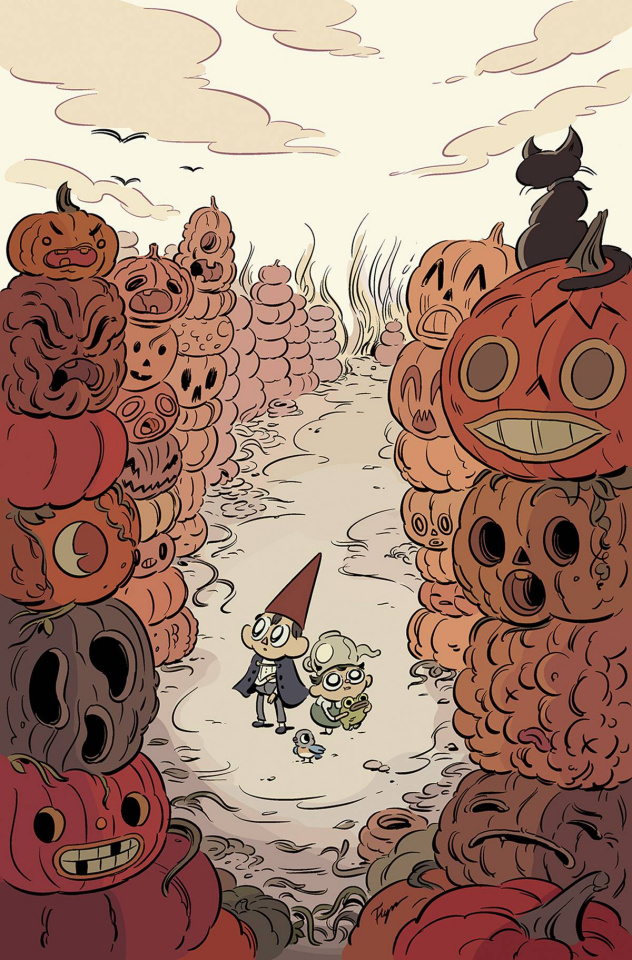 Over the Garden Wall #2 (20 Copy Obyrne Cover)