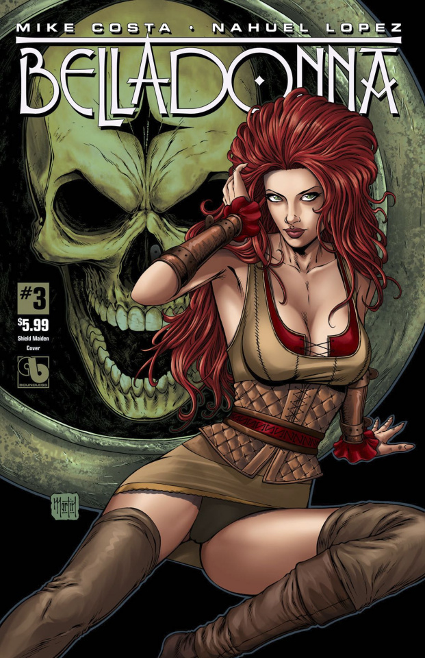 Belladonna #3 (Shield Maiden Cover)