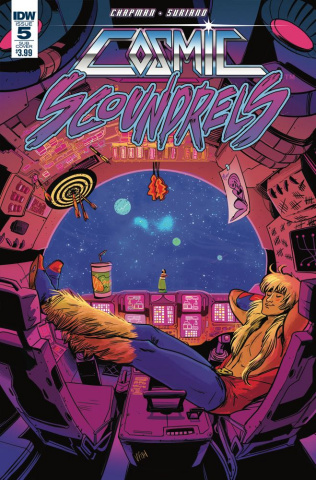 Cosmic Scoundrels #5 (Subscription Cover)