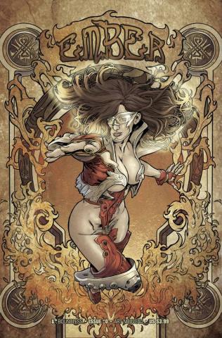 Ember #0 (Art Nouveau Cover)