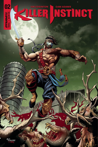 Killer Instinct #2 (Adams Subscription Cover)
