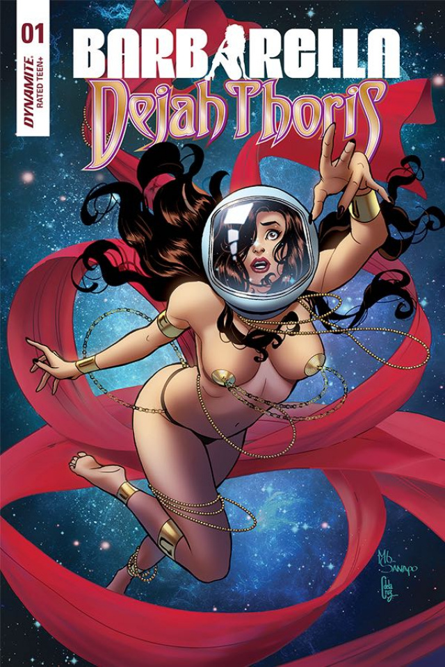 Barbarella / Dejah Thoris #1 (20 Copy Sanapo Dejah Cover)