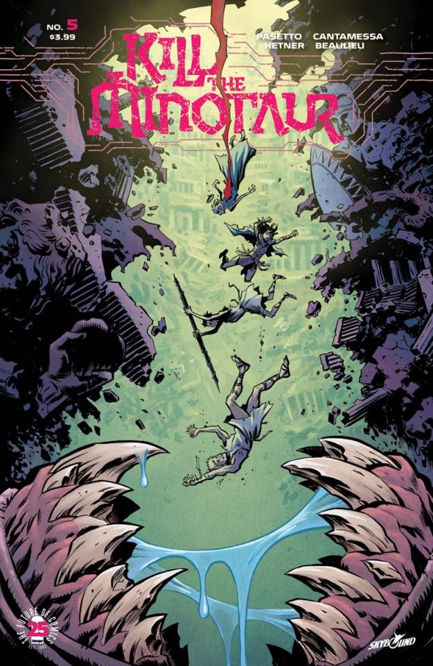 Kill the Minotaur #5 (Ketner & Beaulieu Cover)