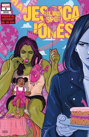 Jessica Jones: Blind Spot #6 (Simmonds Cover)