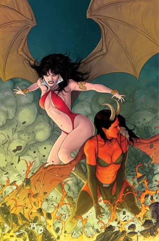 Vampirella vs. Purgatori #5 (Musabekov Virgin Cover)