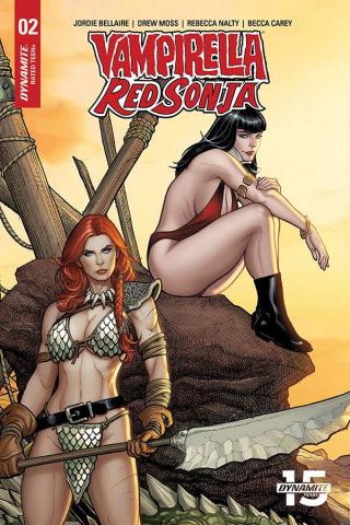 Vampirella / Red Sonja #2 (15 Copy Cho Sneak Peek Cover)