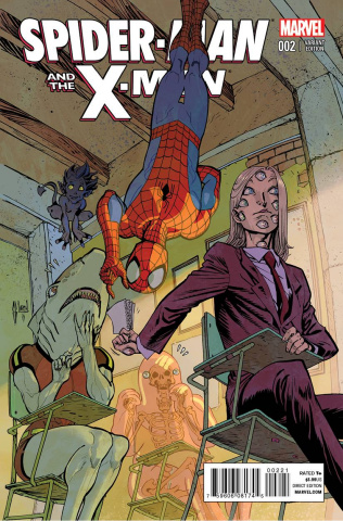 Spider-Man and the X-Men #2 (March Cover)