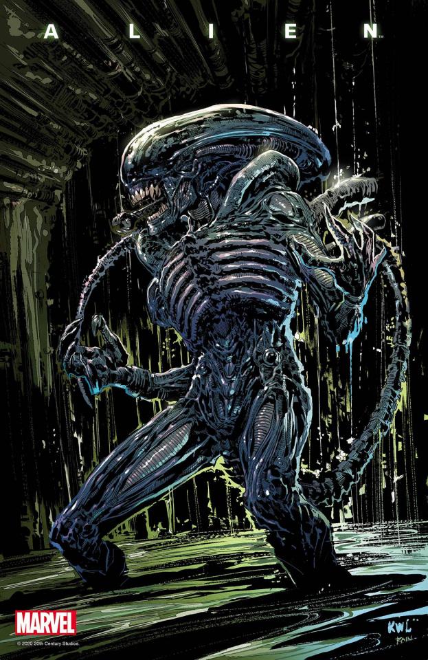 Alien #4 (Lashley Cover)