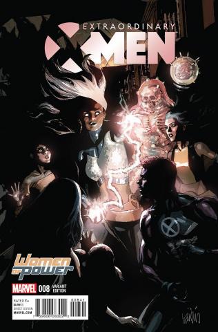 Extraordinary X-Men #8 (Yu WOP Cover)