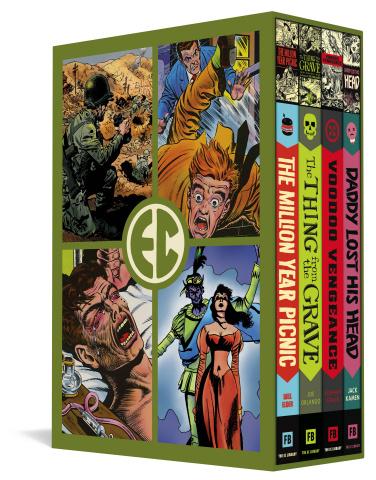 EC Comics: Four Vol. 5 (Slipcase Edition)