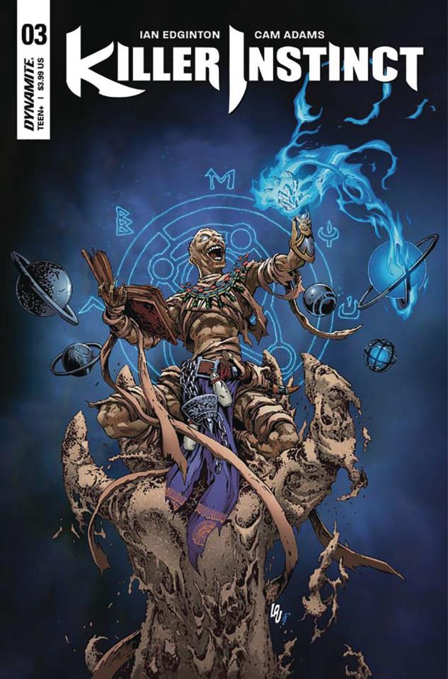 Killer Instinct #3 (Lau Cover)