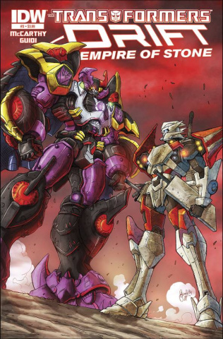 The Transformers: Drift - Empire of Stone #3