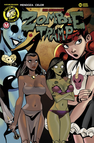 Zombie Tramp #36 (Celor Cover)