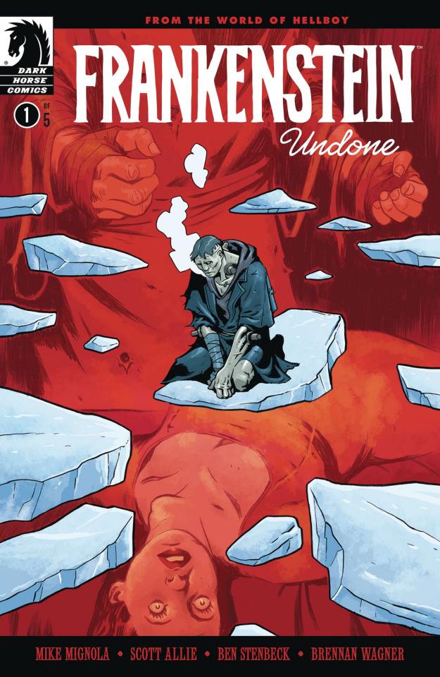 Frankenstein Undone #1 (Stenbeck Cover)