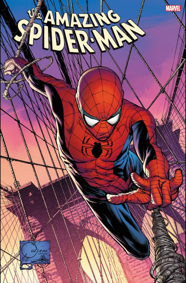 The Amazing Spider-Man #49 (Quesada Cover)