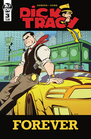 Dick Tracy Forever #3 (Oeming Cover)