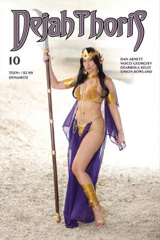 Dejah Thoris #10 (Tasha UK Cosplay Cover)