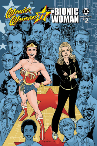 Wonder Woman '77 Meets The Bionic Woman #2 (Lopresti Cover)