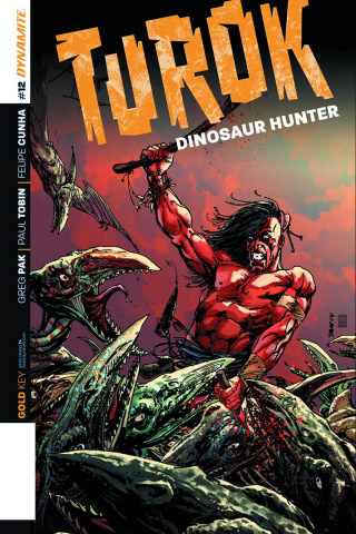 Turok: Dinosaur Hunter #12 (Sears Cover)