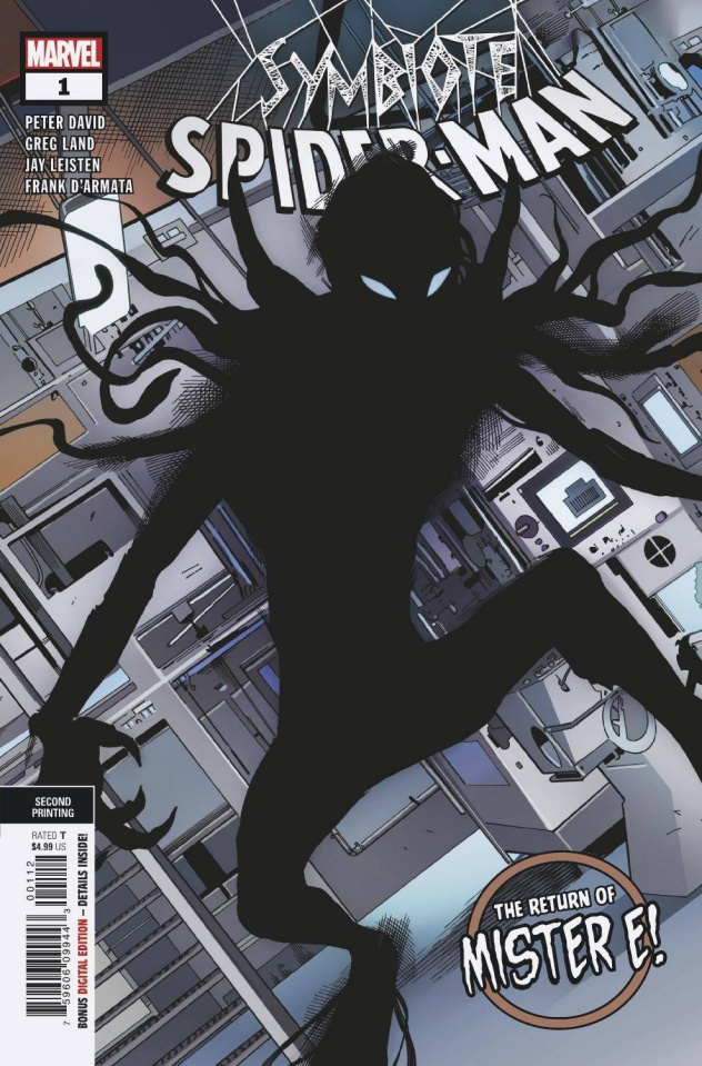 Symbiote Spider-Man: King in Black #1 (2nd Printing)