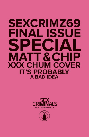 Sex Criminals #69 (XXX Photo Cover)