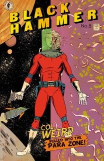 Black Hammer #5 (Lemire Cover)