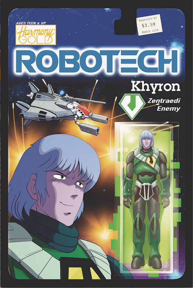 Robotech #7 (Action Figure Cover)