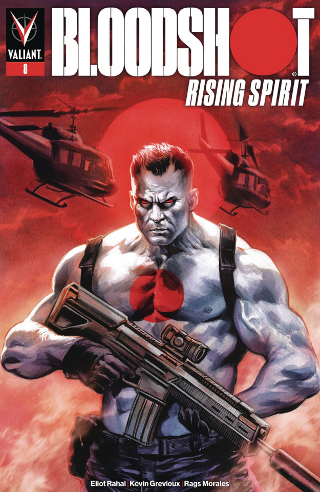 Bloodshot: Rising Spirit #8 (Massafera Cover)