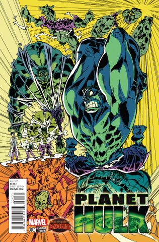 Planet Hulk #4 (Imaishi Manga Cover)