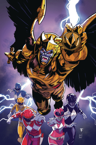 Go, Go, Power Rangers! #18