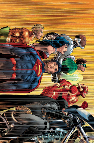 Justice League #50 (Romita Cover)