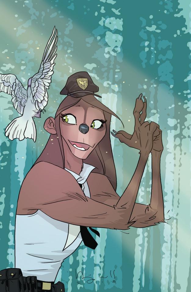 Sasquatch Detective #1