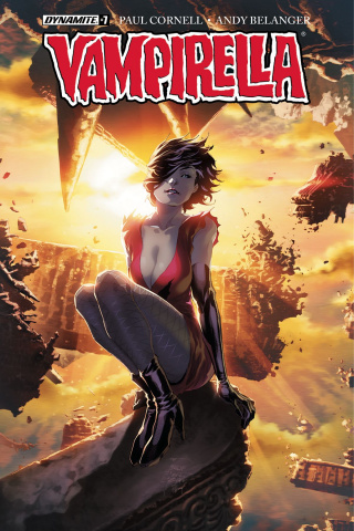 Vampirella #7 (Tan Cover)