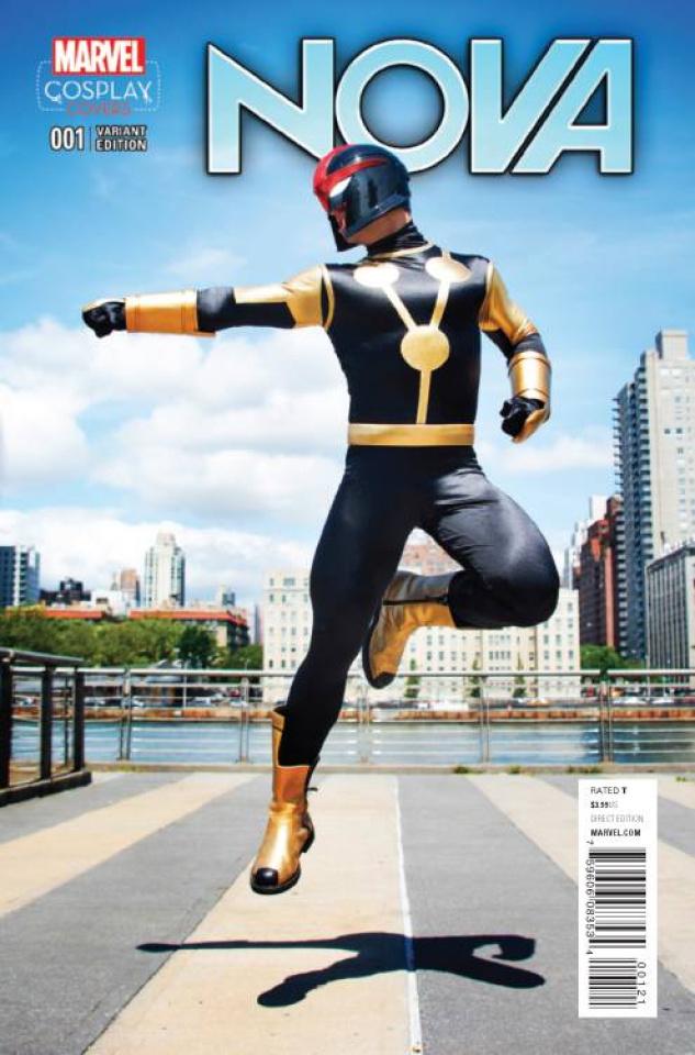 Nova #1 (Cosplay Cover)