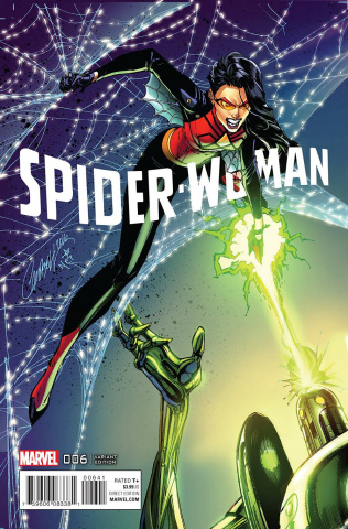 Spider-Woman #6 (Campbell Connecting Cover)