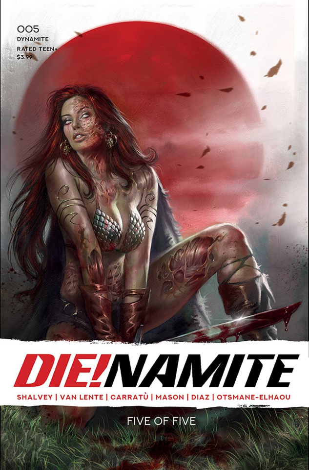 DIE!namite #5 (Parrillo Cover)