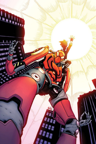The Edge of Spider-Geddon #2 (Hamner Cover)