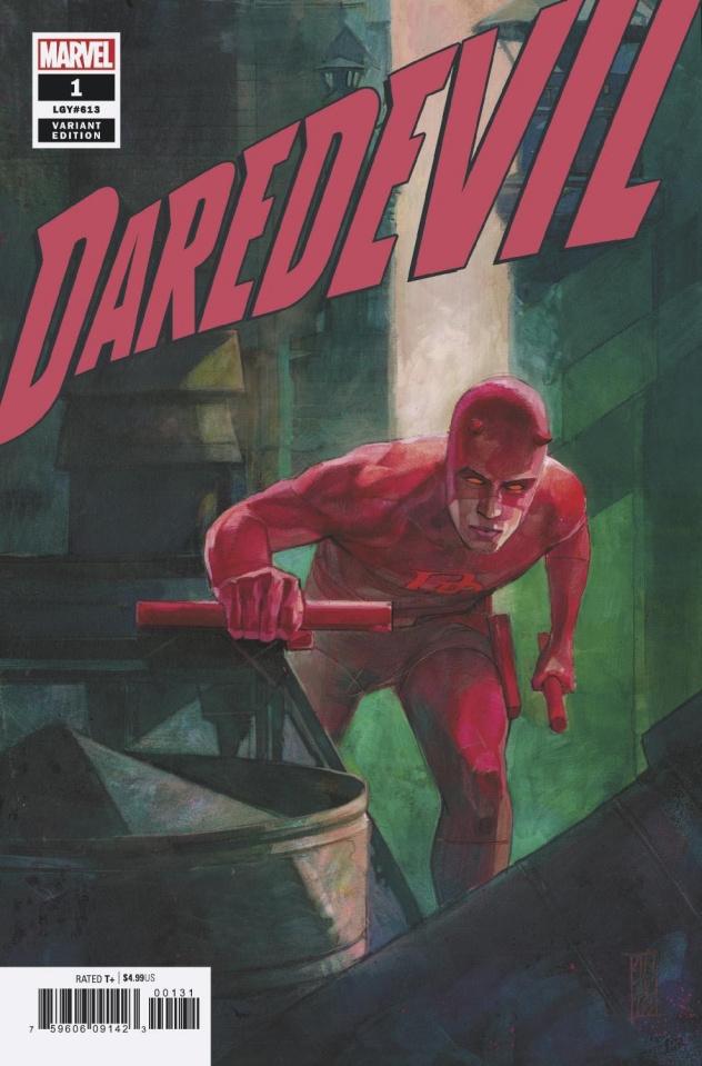 Daredevil #1 (Maleev Cover)