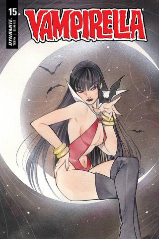 Vampirella #15 (Momoko Cover)