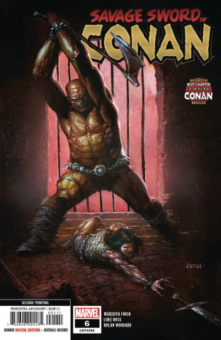The Savage Sword of Conan #6 (Finch 2nd Printing)