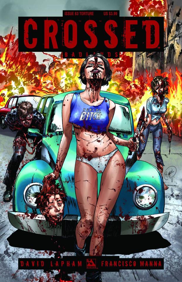 Crossed: Badlands #63 (Torture Cover)