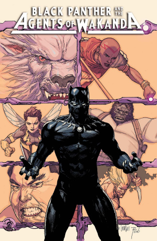 Black Panther and the Agents of Wakanda #1 (Yu Cover)